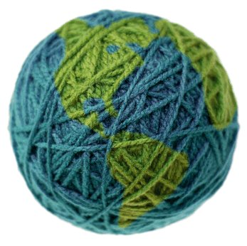 Yarn Ball as Earth